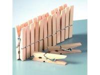 ustvarjalni material EFCO Kljukice za perilo, 72 mm, 10 kosov, Efco 1402404