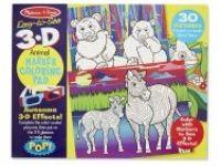 pobarvanke MELISSA AND DOUG 3D pobarvanka živali, Melissa ang Doug 19965