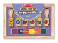 štampiljke MELISSA AND DOUG Komplet lesenih štempiljk, Melissa and Doug 12407