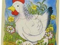 poučne GOKI Večplastna sestavljanka kokoš, Goki 57521