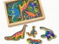 naravoslovje MELISSA AND DOUG Magnetni leseni dinozauri, Melissa and Doug 10475