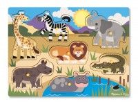 poučne MELISSA AND DOUG VSTAVLJANKA SAFARI, Melissa and Doug, 19054
