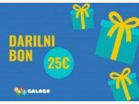 MALI GALAGO Darilni bon Mali Galago, Vrednost 50 EUR
