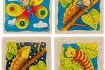 SESTAVLJANKE GOKI Večplastna sestavljanka metulj, Goki 57523