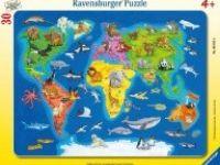 SESTAVLJANKE RAVENSBURGER Sestavljanka živali sveta, Ravensburger 01-066414