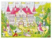 SESTAVLJANKE GOKI Sestavljanka princeskin grad, 96 kos, Goki 57615