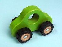 Kategorija 1 GOKI Leseni avto zelen, Goki 55935
