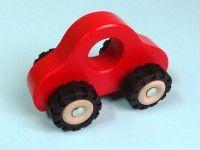 Kategorija 1 GOKI Leseni avto rdeč, Goki 55935