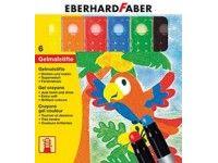 barve in barvice  EBERHARD FABER Gel voščenke, 6 barv, Eberhard Faber 52 90 06