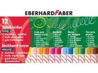 barve in barvice  EBERHARD FABER Barvne krede za tablo, 12 kred, Eberhard Faber 2360