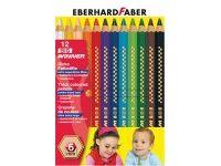 barve in barvice  EBERHARD FABER Debele barvice, 12 barv, Eberhard Faber 51 87 12