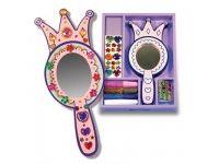 ustvarjalni seti MELISSA AND DOUG Okrasi princeskino ogledalo, Melissa and Doug 13096