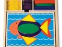sestavljanje oblik MELISSA AND DOUG Moji prvi geometrijski liki, Melissa and Doug 10528