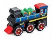 ustvarjalni seti MELISSA AND DOUG Lesen vlak za pobarvat, Melissa and Doug 14576