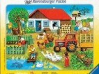 druge sestavljanke RAVENSBURGER Sestavljanka kmetija, 15 kos, Ravensburger 01-060207