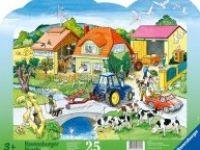 druge sestavljanke RAVENSBURGER Sestavljanka kmetija, 25 kos, Ravensburger 01-064748