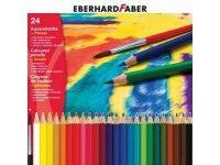 barve in barvice  EBERHARD FABER Akvarelne barvice 24, Eberhard Faber 51 60 24