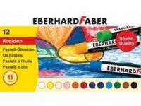 barve in barvice  EBERHARD FABER Oljni pasteli 12, Eberhard Faber 52 20 12