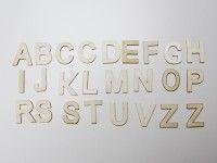 ustvarjalni material EFCO Komplet lesenih črk, Efco H24 906