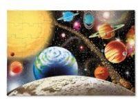 vesolje MELISSA AND DOUG Talna sestavljanka, sončni sistem, Melissa and Doug 10413